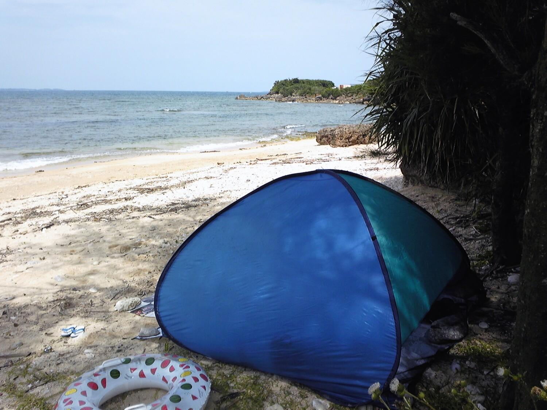 海水浴でテントは砂が心配!?そもそも必要?赤ちゃんにも有効?