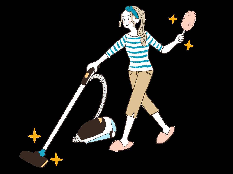 一人暮らしが掃除機かける頻度と何時までかければ良いのかを教えて!